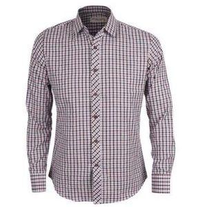 ✨Host Pick✨Kante Check Pattern Collar Shirt~ Brown